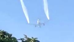 В США самолет перед аварийной посадкой слил топливо над школой