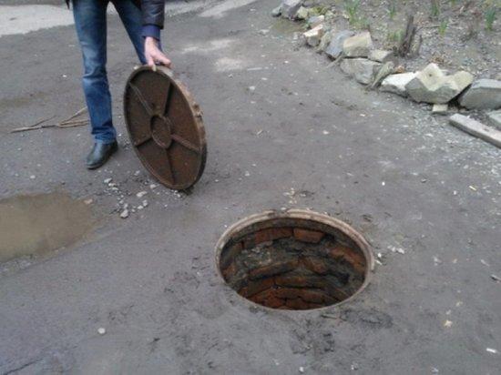 За год в Иванове пропало почти шестьсот крышек канализационных люков