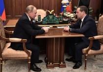 Президент России Владимир Путин после отправки Дмитрия Медведева в отставку вводит должность замглавы Совбеза и назначает Медведева на данную должность