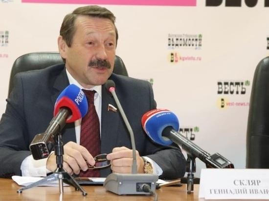 Депутат Скляр услышал в Послании Путина калужский опыт