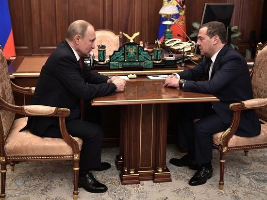 Путин предложил Медведеву должность зампреда Совбеза