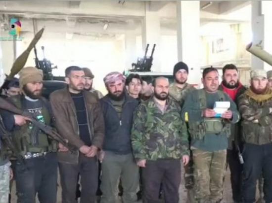 """Сирийские боевики из """"умеренных"""" группировок угрожают российским частям"""
