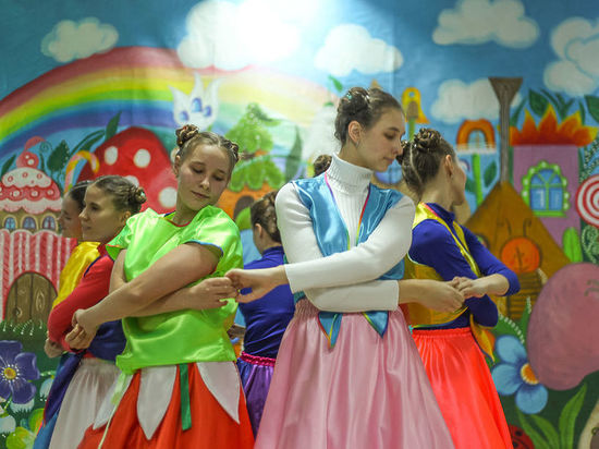 Кузбасском детском доме с детьми происходят обыкновенные чудеса