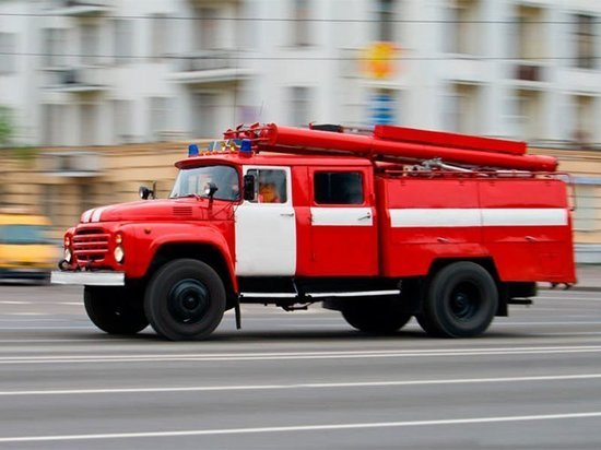 Пожилая женщина госпитализирована после пожара в калужской коммуналке
