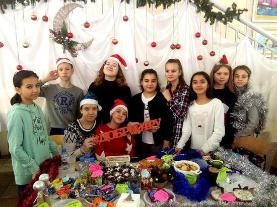 Красноярские школьники пожертвовали больным детям больше 1 млн рублей