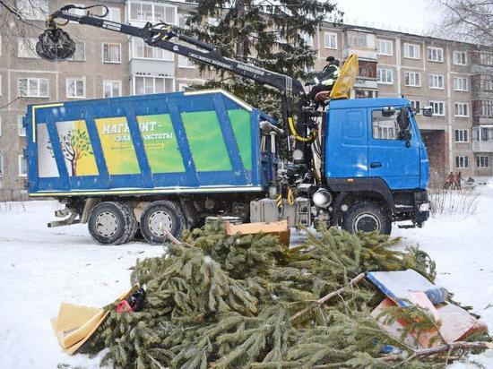 В Омске в новогодние праздники мусор вывозился вовремя