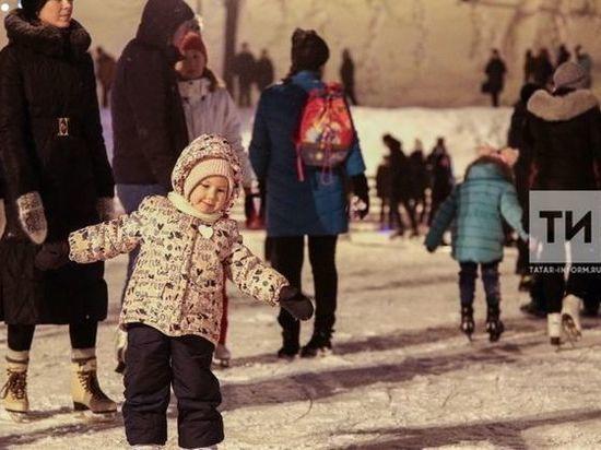 В Казани временно закроют катки под открытым небом