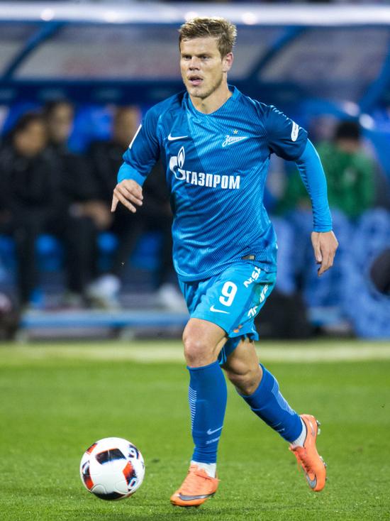 Белгородец Кокорин забил победный гол