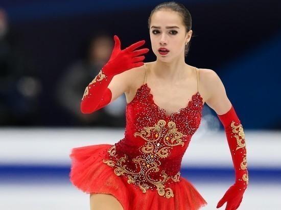 Алина Загитова опубликовала видео своего падения