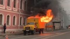 В Твери взорвалась машина с ремонтниками