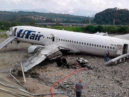 МАК назвал причину аварии с самолётом «ЮТэйр» в Сочи