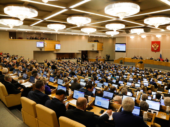 В Думу внесен проект о ликвидации партий за неуважение к стране
