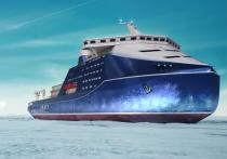 Новый ледокол необходим для обеспечения круглогодичной проводки грузовых судов по Северному морскому пути с коммерческой скоростью