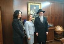 Раввин Лазар встретился с израильским министром Гилой Гамлиэль