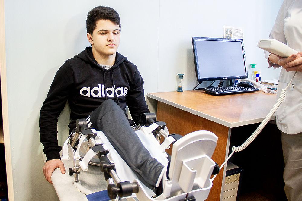 Благотворители купили новое реабилитационное оборудование для детей