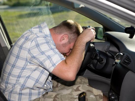 Водитель из Дагестана уснул за рулем на калмыцкой дороге