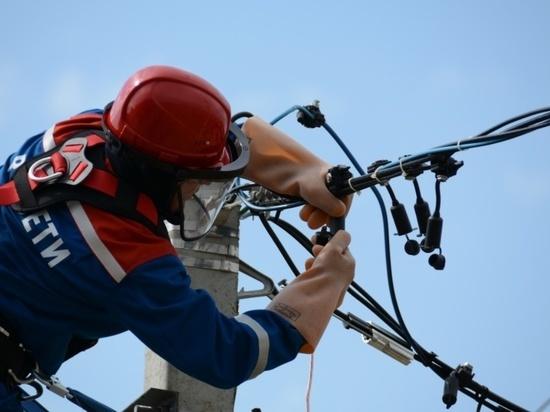 Энергетики оперативно восстановили электроснабжение в микрорайоне Северный Калуги