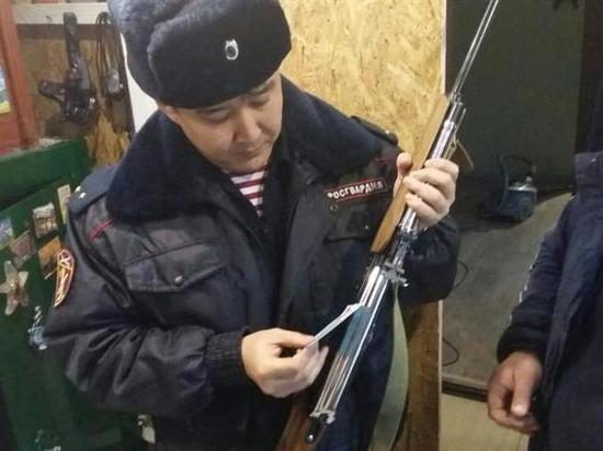 В Калмыкии в прошлом году изъяли свыше тысячи огнестрельного оружия