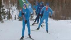 Весь Ямал за тебя: спортсмены из Аксарки поддержали шахматистку Горячкину лыжным забегом