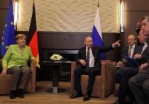 Меркель позвонила Путину из-за конференции по Ливии в Берлине