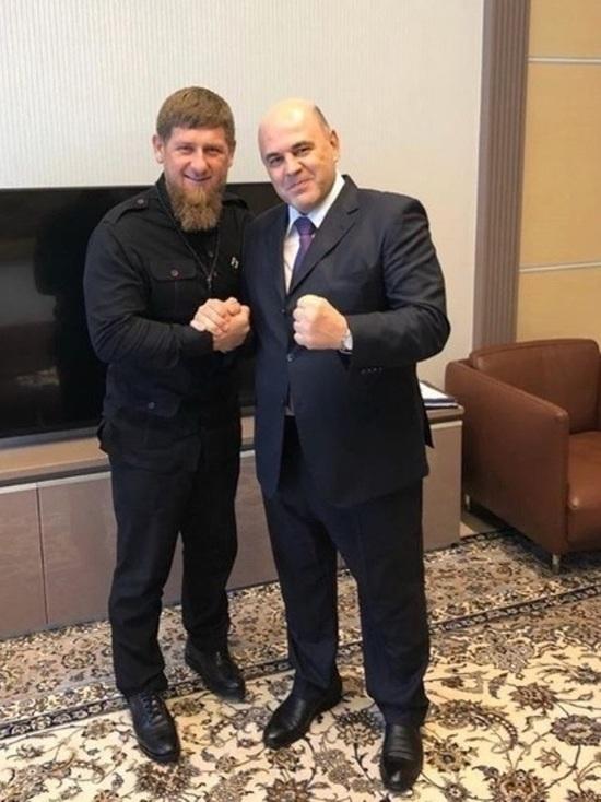 Мишустин отметил вклад Кадырова в развитие налоговой системы в Чечне