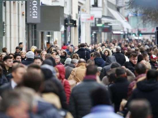 Рост населения в Германии уменьшается