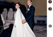 Даша Жукова вышла замуж в присутствии принцесс и Орландо Блума