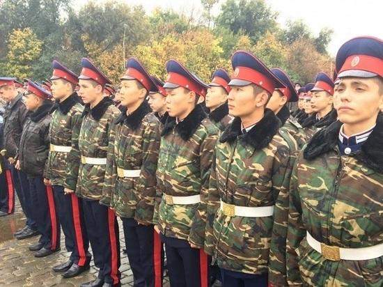 Калмыцкое казачество набирает кандидатов для Парада Победы