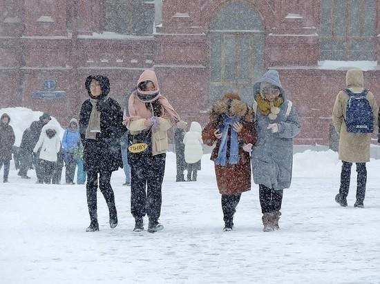 Синоптики пообещали москвичам метель