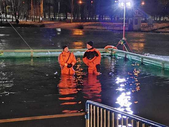 Тульские спасатели и полиция отчитались о Крещении без происшествий