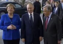 Путин и Меркель на русском языке обсудили генсека ООН