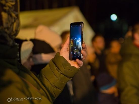 Снимать шоу  из зрительного зала на «мобильник» может быть опасным