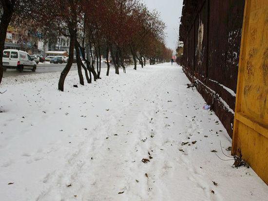 Сильный мороз пришел в Омск ненадолго