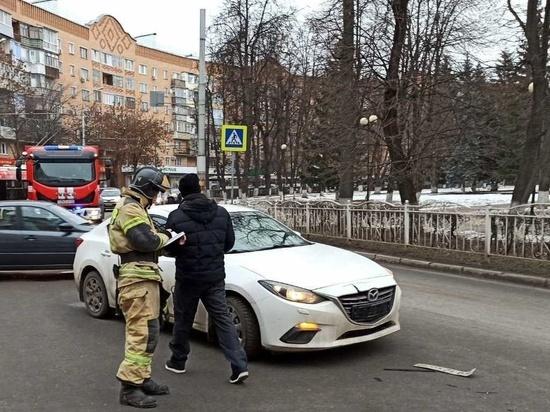 ДТП с маршруткой произошло в самом центре Калуги
