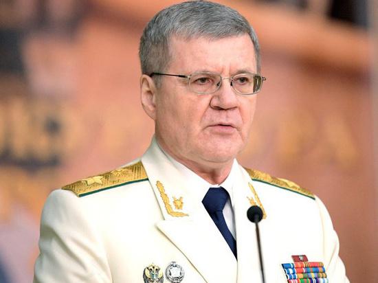 Чайка покидает пост генпрокурора РФ