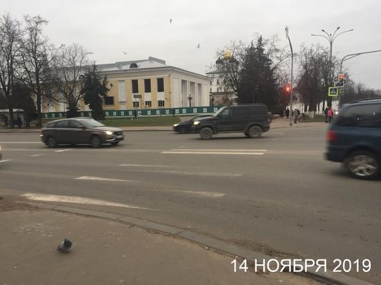 Псковскую администрацию наказали за плохую разметку