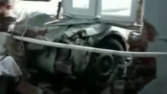 В Краснодарском крае пьяный водитель продырявил насквозь стену дома