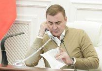 Губернатор Дюмин позвонил недовольной жительнице прямо во время совещания