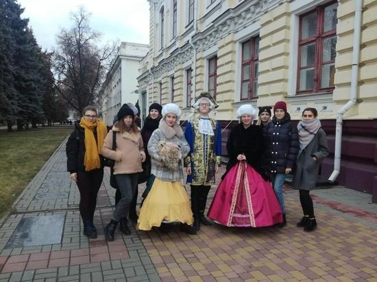 В Тамбове прошёл цикл театрализованных экскурсий