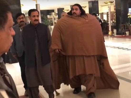 440-килограммовый пакистанец ищет себе 100-килограммовую жену