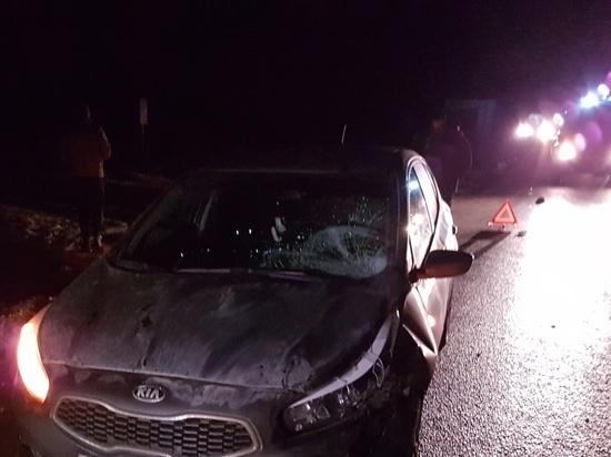 Иномарка насмерть задавила пешехода на калужской трассе