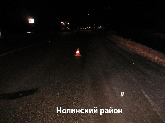 В Нолинском районе УАЗ сбил пешехода