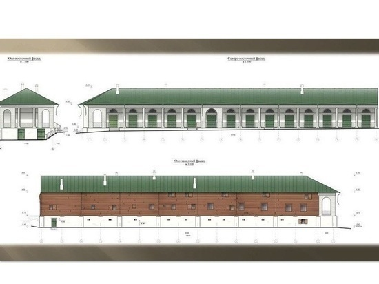 Костромском Солигаличе начинается реставрация торговых рядов