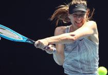 Шараповой сложно, но она не сдается: Мария вылетела с Australian Open