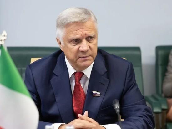 Сенатор Волков уходит из Совфеда на