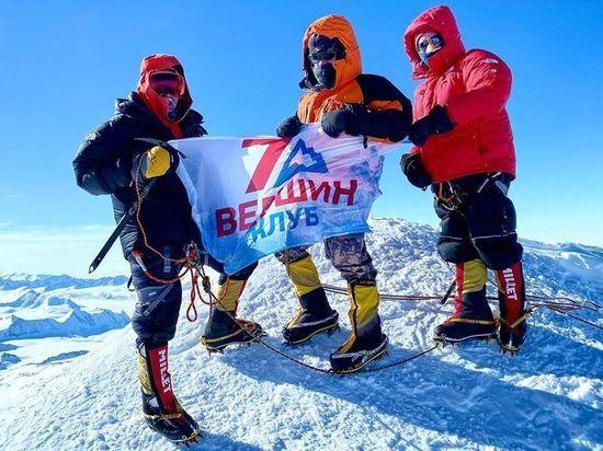 Наш человек в Антарктиде: костромич Дмитрий Климчук покорил гору Массив Винсон