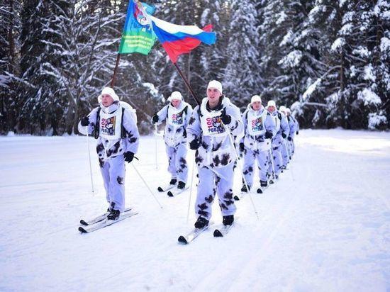 Ивановские военнослужащие ВДВ двадцать дней проведут в марш-броске на лыжах