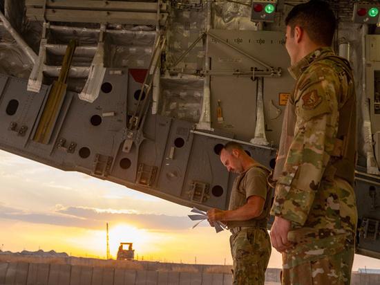 Армия США заблокировала движение российской военной колонны в Сирии