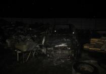 В Тверской области злопамятные мужчины сожгли склад