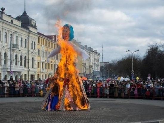 Проводы русский зимы предложил отменить в этом году пскович